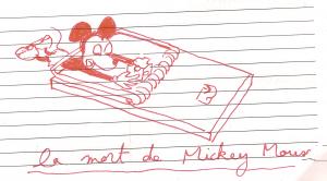 la mort de Mickey Mouse